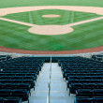 Baseball Stadium — Stock Photo
