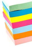 Stack of sticky notes — Stock Photo