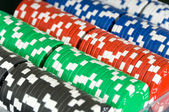 Poker Chip Background — Stock Photo