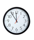 Office Clock Face — Fotografia Stock