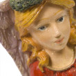 Stock Photo: Christmas Angel Figurine