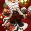 Christmas Decorations- Santa Claus figurine — Stock Photo