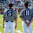 Referee - American Football game official -referees — Stock Photo