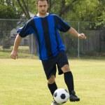 Soccer - Football Player dribbling — Stock Photo