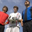 Foto Stock: Soccer - Football Players