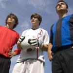 Soccer - Football Players — Stock Photo