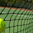 Tennis balls on Court — Foto Stock