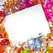 Stock Photo: Curly ribbon Notecard