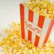 Movie Popcorn - Stock Photo