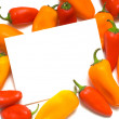 Stock Photo: Pepper Notecard