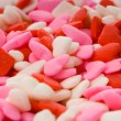 Candy Valentine's Hearts - Close-up — Stock Photo