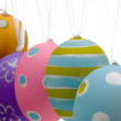 Brightly painted Easter Egg Decorations - Lizenzfreies Foto