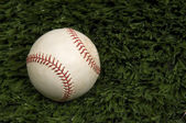 Baseball on Grass — Foto de Stock