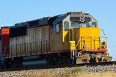 Vlak motor — Stock fotografie