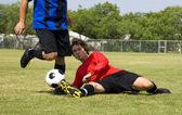Tackle football - soccer! — Photo