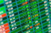 Trading Stocks — Stock Photo