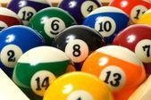 Pool Ball on white — Stock Photo