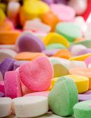 Blank Candy Heart — Stock Photo