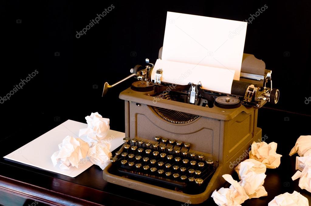 блок писатель