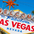 Welcome to Las Vegas Nevada sign on a sunny afternoon — Stockfoto #13988203