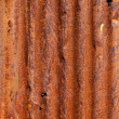 Rusty corrugated metal background — ストック写真