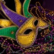 A Mardi gras jester - Stock Photo