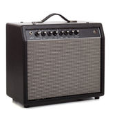 A black amp on a white background — Stock Photo