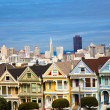 Alamo Square San Francisco Califonia — Stock Photo