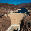 Famous Hoover Dam near Las Vegas, Nevada — Stock Photo #35520759