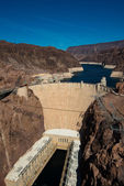 Famous Hoover Dam near Las Vegas, Nevada — Stock Photo