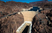 Famous Hoover Dam near Las Vegas, Nevada — Stock Photo
