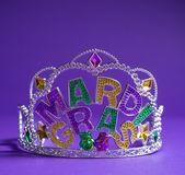 Mardi gras kroon decoratie — Stockfoto
