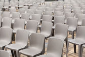Gray chairs — Stock Photo