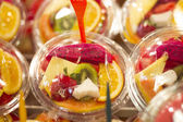 Corte la fruta — Foto de Stock