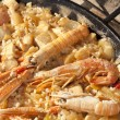 Paella rice — Stock Photo