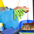 Stock Photo: Cleaning set