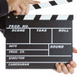 Stock Photo: Film Slate