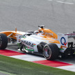 Formula One Teams Test Days at Catalunya circuit - Stok fotoraf