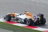 Formula One Teams Test Days at Catalunya circuit — Stock Photo