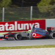 Stock Photo: FormulOne Teams Test Days at Catalunycircuit
