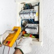 Electrician working — Stock Photo #23530073