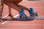Relay Runner — Stock Photo