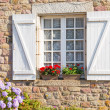 Stock Photo: French Brittany typical house
