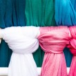 Colorful scarf — Stock Photo