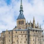 Mont st michel, normandy, Fransa — Stok fotoğraf