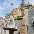 Mont St Michel, Normandy, France — Lizenzfreies Foto