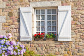 French Brittany typical house — Stock Photo