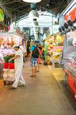 Mercado de la boquería en barcelona — Foto de Stock