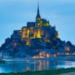Le Mont Saint Michel — Stockfoto