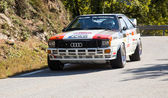 The oldest rally in spain — Stock Photo